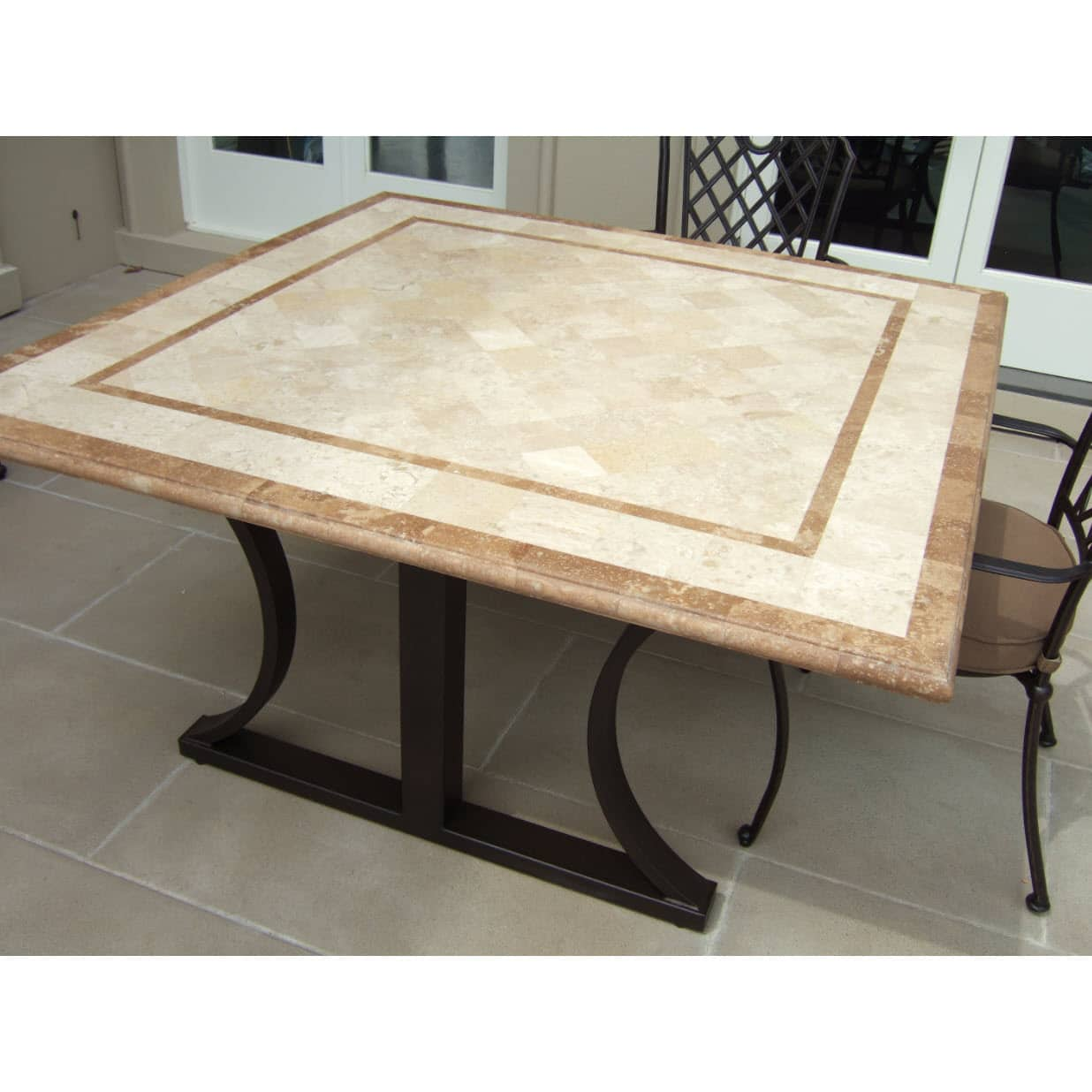 positano travertine stone table many sizes available