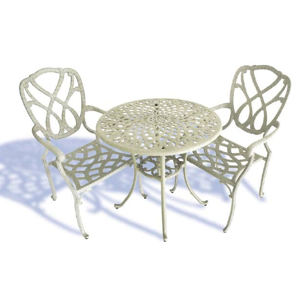 Capri 3 Piece Dining Setting Inspired Outdoor Living